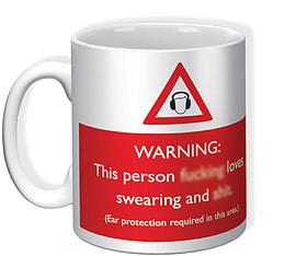 Loves Swearing Mug Home - Tableware