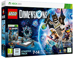 LEGO Dimensions Starter Pack Xbox 360 Cover Art
