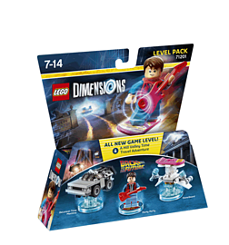 Back to the Future Level Pack - LEGO Dimensions Lego Dimensions