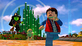 Back to the Future Level Pack - LEGO Dimensions screen shot 1