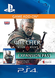 The Witcher 3: Wild Hunt Expansion Pass PlayStation Network Cover Art