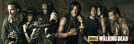 The Walking Dead Season 5 Door Poster Memorabilia
