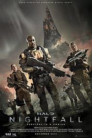 Halo Nightfall Key Art Maxi Poster Memorabilia
