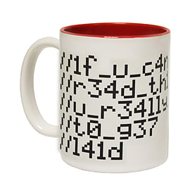 123t Mugs IF YOU CAN READ THIS YOU REALLY NEED TO GET LAID Ceramic Slogan Cup With Red Interior Home - Tableware