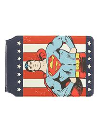 Superman Retro Card Holder 15x10cm Traditional Games