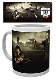 The Walking Dead Shoot 10oz Drinking Mug Memorabilia