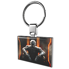 Call of duty: Black Ops III Solid Keyring - Only at GAME Gifts