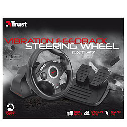 GXT 27 Force Vibration Steering Wheel for PC and PS3 Accessories