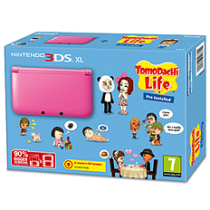 Nintendo 3DS XL Pink with Tomodachi Life Nintendo 3DS