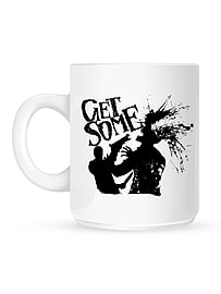 Zombies Get Some White Mug Home - Tableware