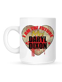 I Am The Future Mrs Daryl Dixon White Mug Home - Tableware