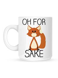 Oh For Fox Sake White Mug Home - Tableware