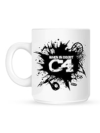 When In Doubt C4 White Mug Home - Tableware