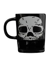 Brew Buddies Skull Black Mug Home - Tableware