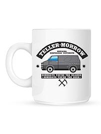 Teller Morrow White Mug Home - Tableware
