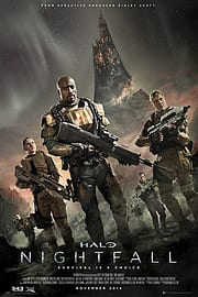 Halo Nightfall Poster 61x91.5cm Posters