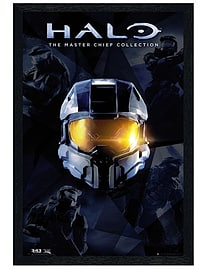 Halo Black Wooden Framed Master Chief Collection Maxi Poster 61x91.5cm Posters