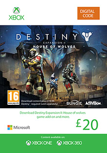 Destiny Expansion II: House of Wolves XBOX ONE