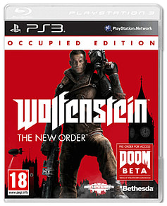 Wolfenstein The New Order - Occupied Edition PS3 Cover Art
