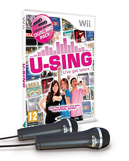 U Sing - With 2 Microphones Wii