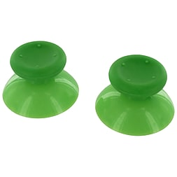 ZedLabz analog thumbsticks for Xbox 360 - 2 pack - replacement controller thumb grip sticks - green XBOX360