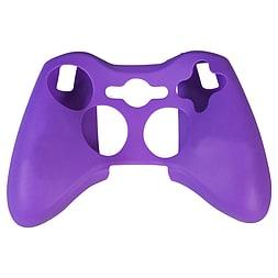 ZedLabz silicone case for Xbox 360 controller - rubber grip skin protective bumper cover - purple XBOX360