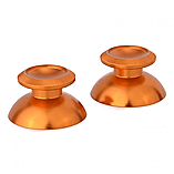 ZedLabz metal thumbsticks for PS4 controllers - aluminium alloy metal analog thumb stick - gold screen shot 1