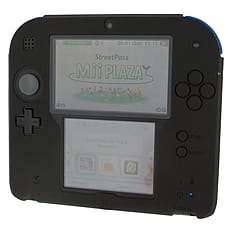 ZedLabz silicone case for Nintendo 2DS - gel protector soft cover rubber protective bumper - Black 3DS
