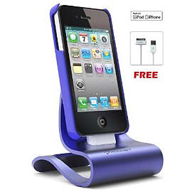 Konnet iCrado Metallic Stand iPhone - Violet Mobile phones