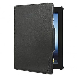 Tech Air Ipad Air Premium Folio In Black Faux Leather Black Tablet