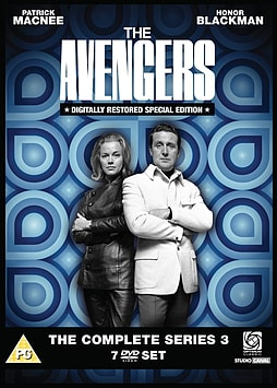 Avengers: The Complete Series 3 DVD