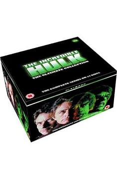 Incredible Hulk: The Complete Seasons 1-5 DVD