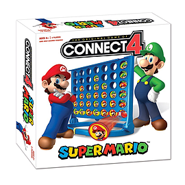 Super Mario Connect 4 Traditional Games
