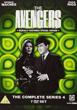 Avengers: The Complete Series 4 DVD