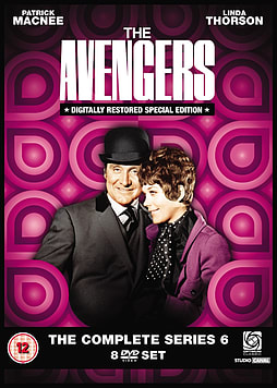 Avengers: The Complete Series 6 DVD