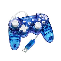 Rock Candy Blue Wired Controller - PS3 PS3