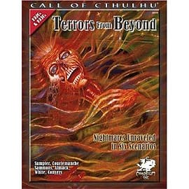 Terrors From Beyond Books