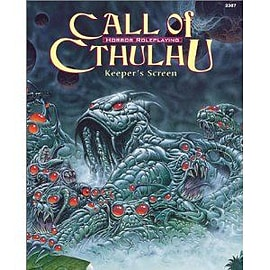 Call Of Cthulhu Keepers Screen Books