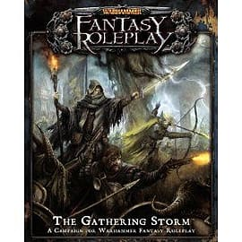 Warhammer Fantasy Role Play Gathering Storm Books