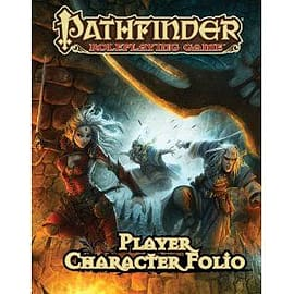 Player Character Folio Pathfinder Books
