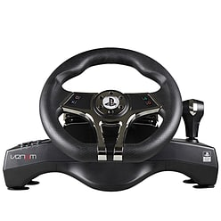 Official Sony PlayStation Licensed Hurricane Steering Wheel (PS4 / PS3) Accessories