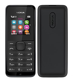 Nokia 105 - Black (As New Condition) Phones