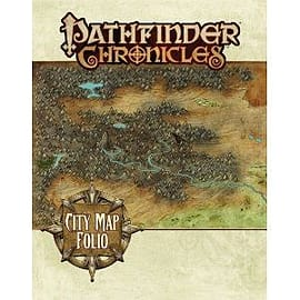 Cities Map Folio: Pathfinder Chronicles Books