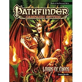 Lords Of Chaos:pathfinder Campaign Books
