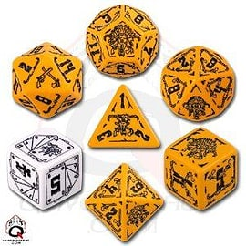 Deadlands Dice Set (7 Dice) Books