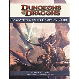Dandd Forgotten Realms Campaign Guide Books