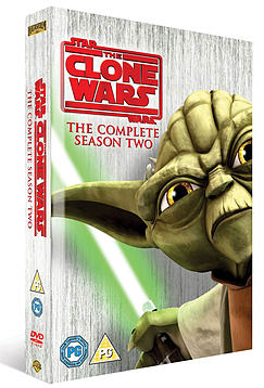 Star Wars Clone Wars Season 2 DVD