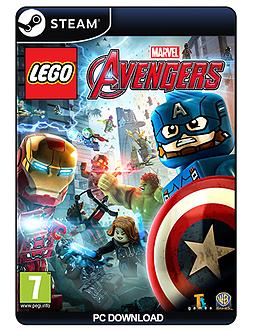 Lego Marvel Avengers PC Cover Art