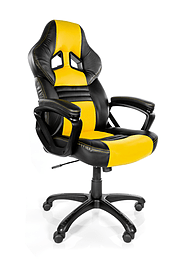 AROZZI MONZA GAMING CHAIR - YELLOW Multi Format and Universal