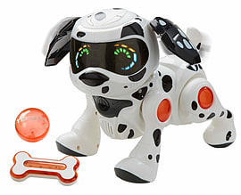 Teksta Robotic Puppy (Dalmatian) Figurines and Sets